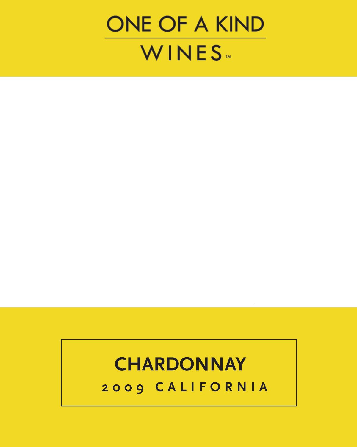 2009 Chardonnay