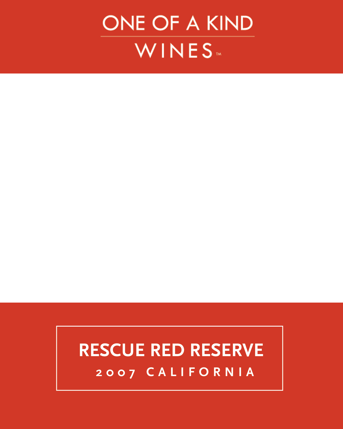 2011 Rescue Red Reserve