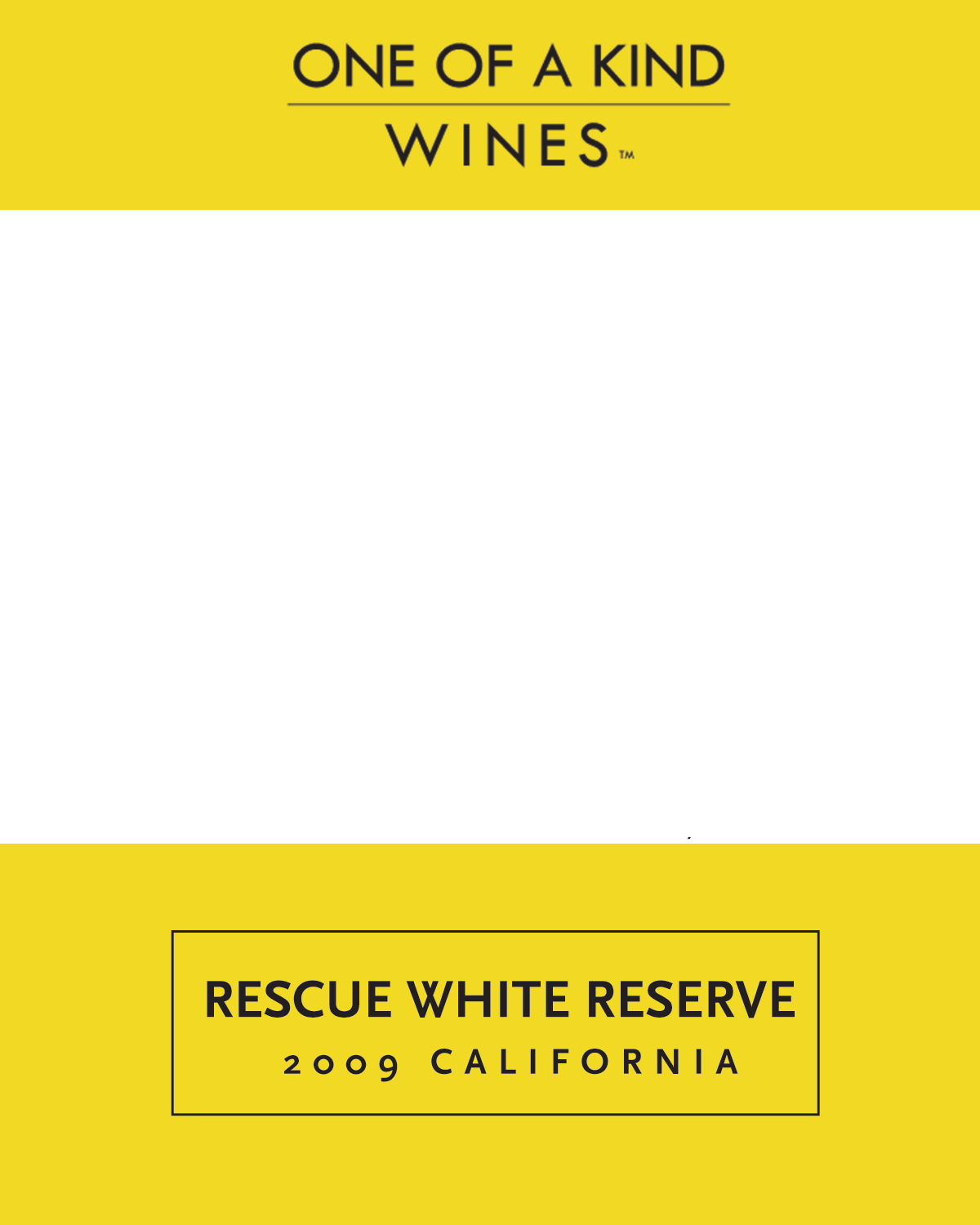 2009 Rescue White Reserve